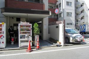 トーカン渋谷キャステールのエントランス