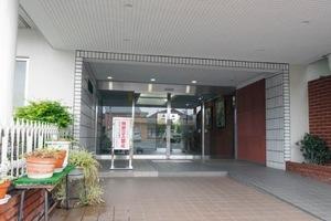 グリーンプラザ竹ノ塚のエントランス
