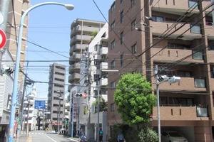 グランシティ早稲田の外観