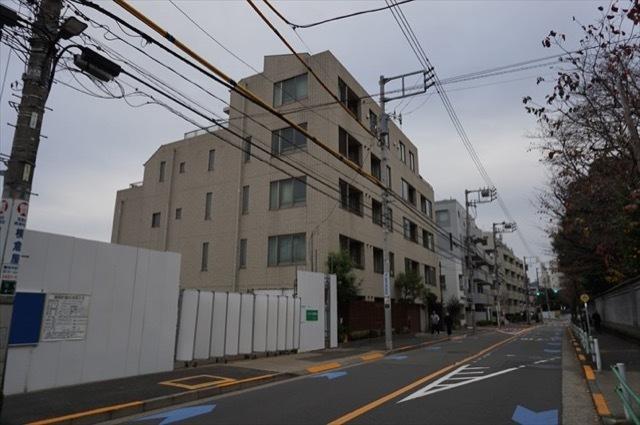 プラウドジェム三田聖坂の外観