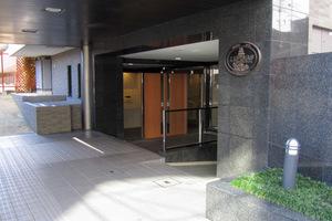 ルピナス渋谷桜丘ガーデンコートのエントランス