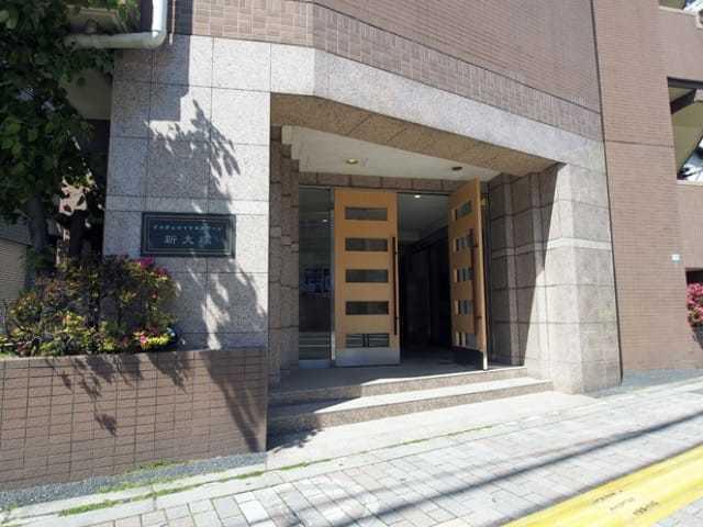 ドルチェロイヤルステージ新大塚のエントランス