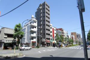 スカイコートヌーベル早稲田の外観