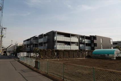 アールブラン世田谷桜丘の外観