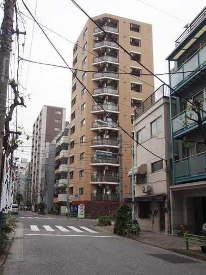 プレール日本橋壱番館の外観