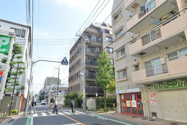 コスモ江戸川中央グレイスフォルムの外観