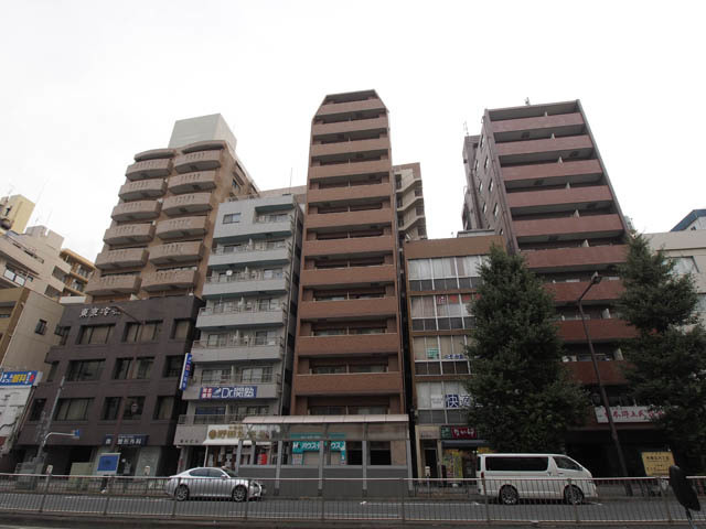 アヴァンツァーレ文京本駒込の外観