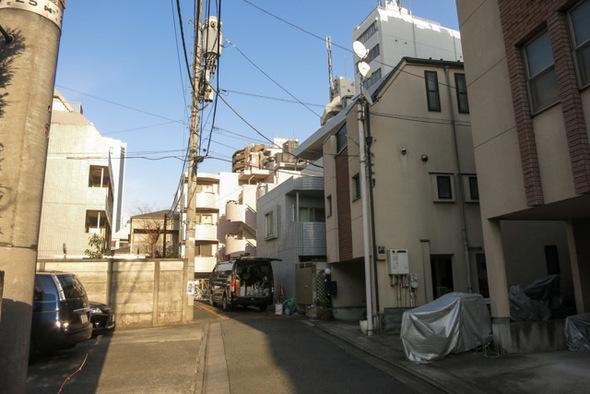 ペガサスマンション渋谷本町第3の外観