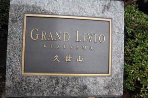 グランリビオ久世山の看板