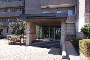 パークハウス多摩川北3番館のエントランス