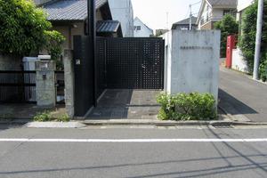 神楽坂南町アパートメントのエントランス