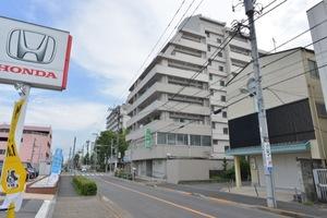 信和江戸川マンションの外観