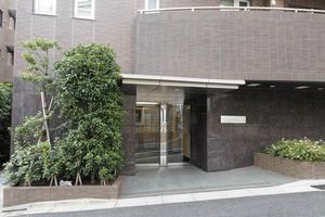 リビオ文京本駒込のエントランス