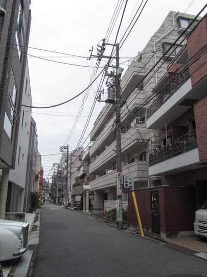 キャッスルマンション中野新橋の外観