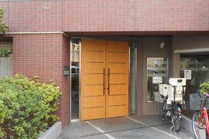 レクセルマンション錦糸町のエントランス