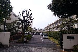 日商岩井大岡山第2マンションの外観
