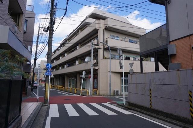 セントラル蒔田マンションの外観