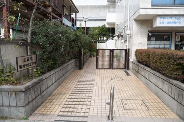 武蔵境永谷タウンプラザのエントランス