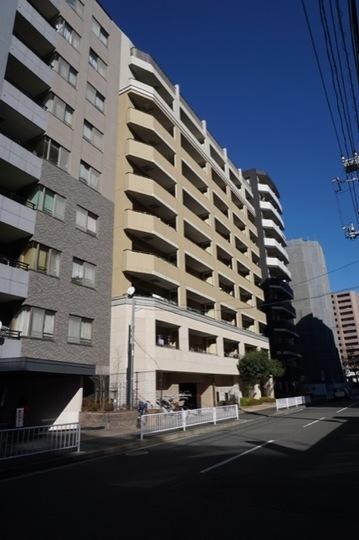 クレストフォルム新横浜サウススクエアの外観