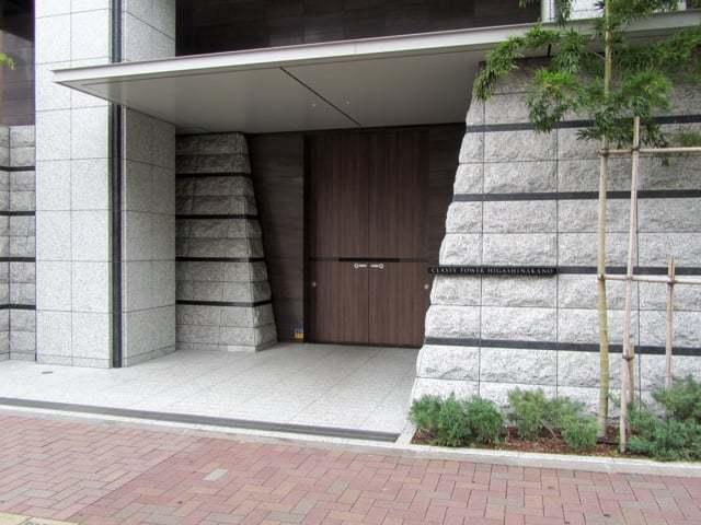 クラッシィタワー東中野のエントランス