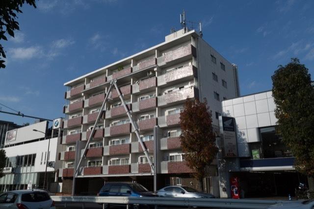 日商岩井田園調布マンションの外観
