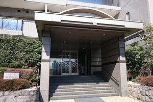 パークハウス多摩川南5番館のエントランス