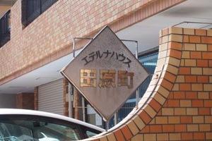 エテルナハウス田原町の看板