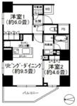 ザパークハウス新宿柏木の間取り