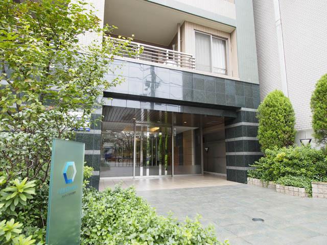 カスタリア本所吾妻橋のエントランス