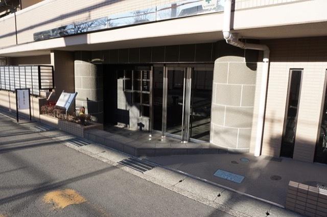 マイキャッスル宮崎台サウスコートのエントランス
