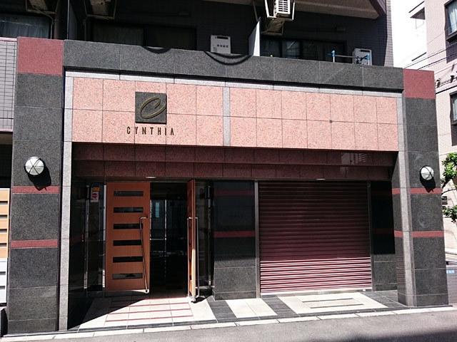 シンシア蒲田のエントランス