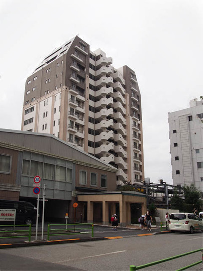 サンクタス東京セントラルベイの外観