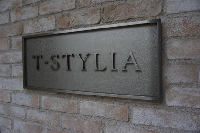 T・STYLIA(ティースタイリア)の看板