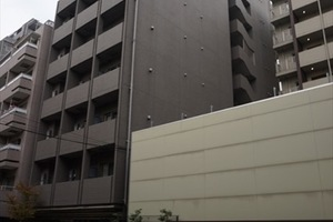 スカイコート三田慶大前壱番館の外観