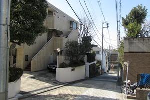 富ヶ谷シティハウスの外観