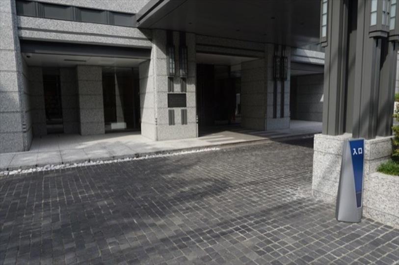 パークマンション赤坂氷川坂のエントランス