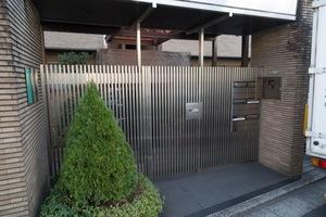 サンク駒沢のエントランス