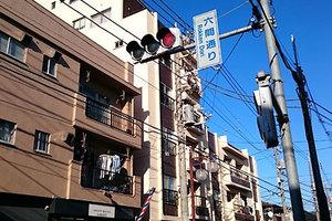 田園調布三慶マンションの外観