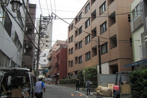 クリオ早稲田壱番館の外観