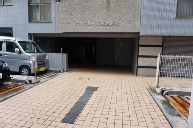 サングレイス横浜駅東のエントランス