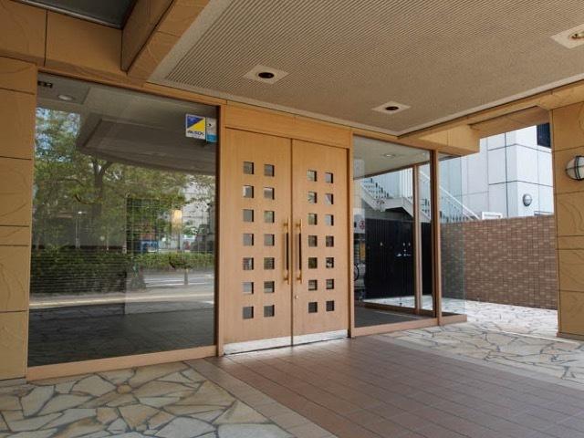 エンゼルハイム元渕江公園第2のエントランス