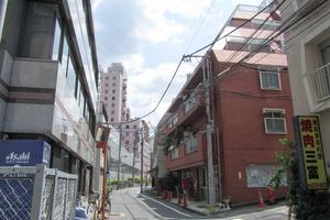 グリーンハイツ(新宿区)の外観