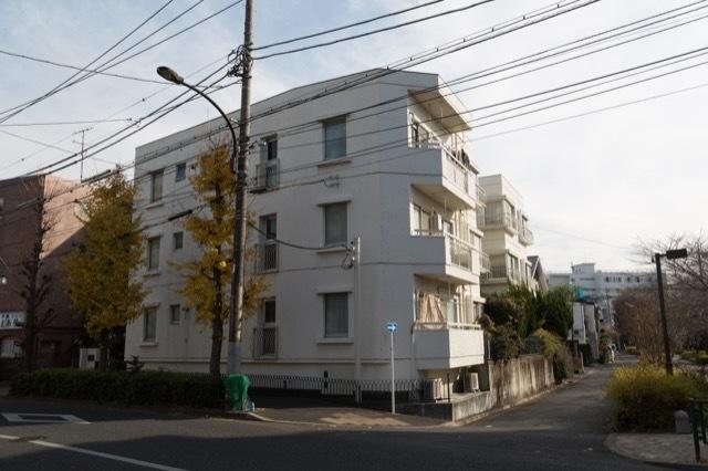 グリーンパーク駒沢の外観