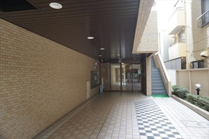 ニックアーバンハイツ亀有のエントランス