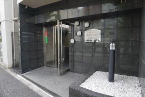 菱和パレス白金高輪駅前のエントランス