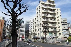 マンション渋谷並木橋の外観