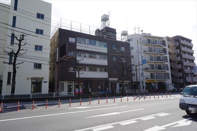ニュー大倉山マンションの外観