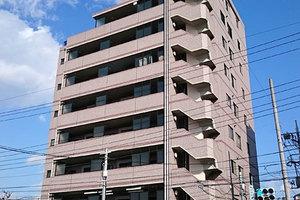 菱和パレス大森山王壱番館の外観