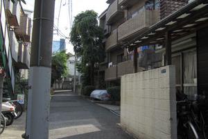 グランドメゾン北新宿の外観