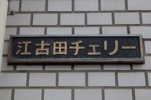 江古田チェリーの看板